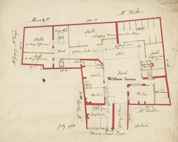 [Plan of property on Bread Street] 119C